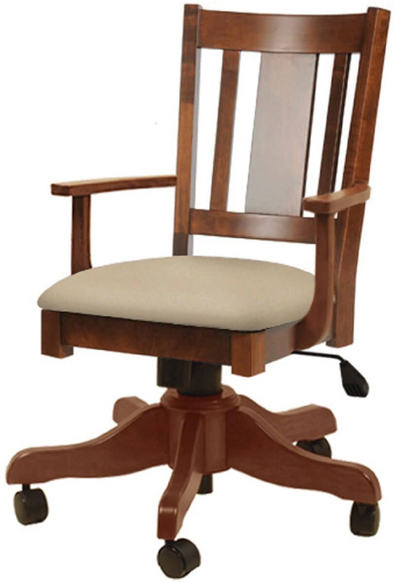 Henredon Mission Desk Chair