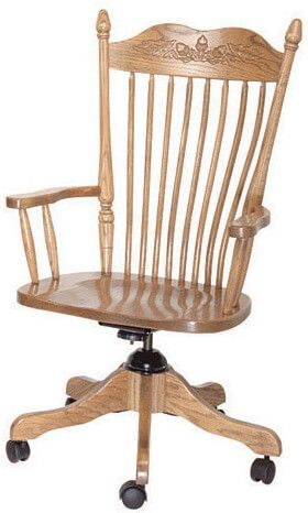 Kittery Solid Wood Desk Chair