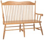 Kittery Spindle Back Bench