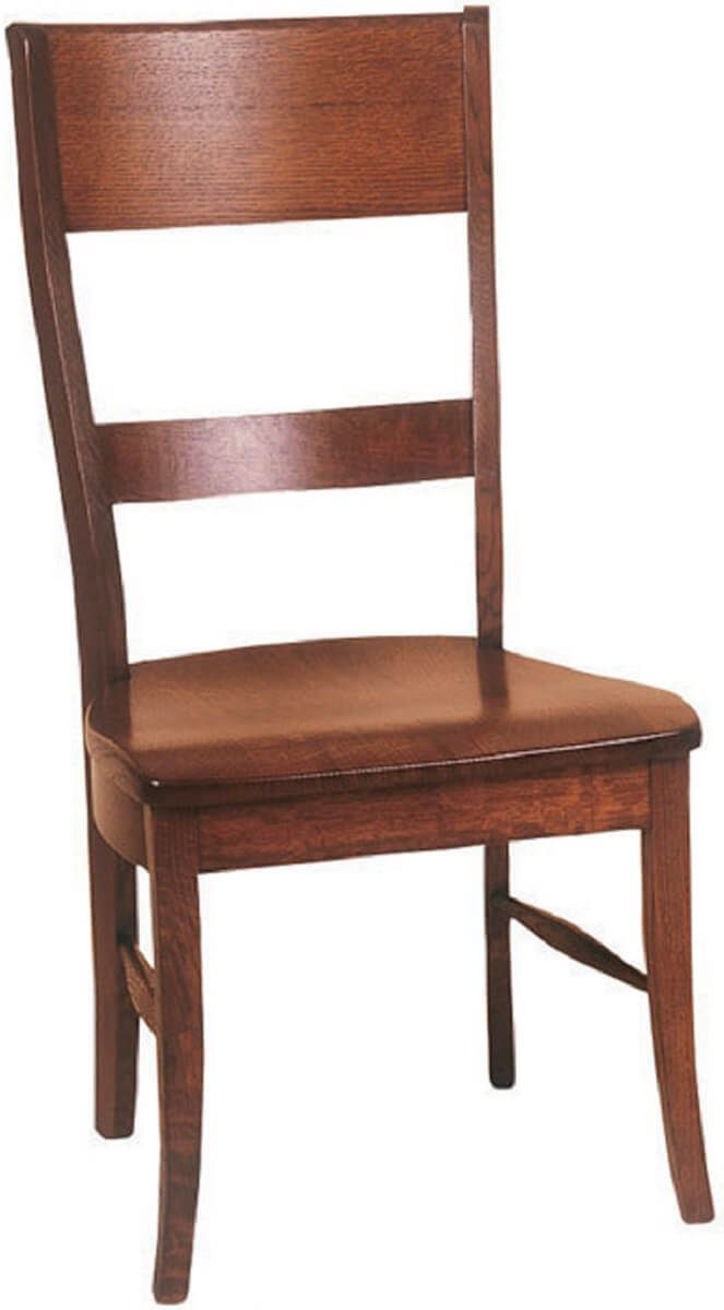Ladera Side Chair in Brown Maple
