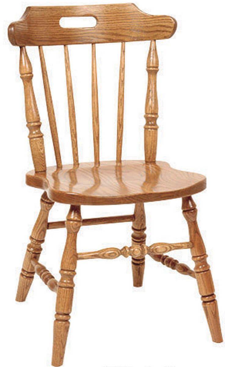 Medfield Solid Wood Side Chair in Oak
