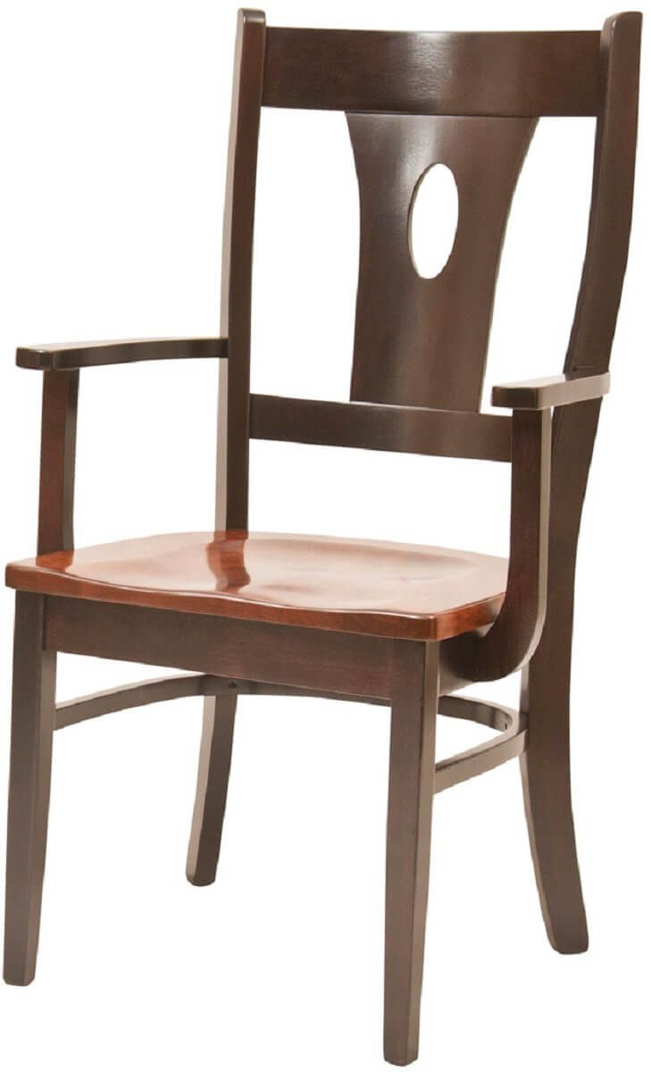 Contemporary Rye Arm Chair