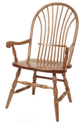 Smithe Sheaf Back Arm Chair