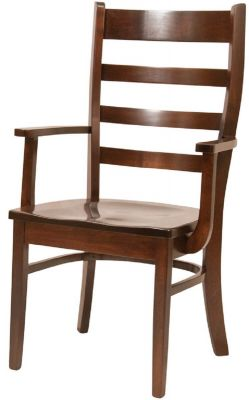 St. Lucia Ladder Back Arm Chair