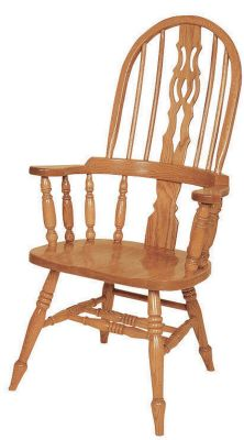 Wessex Solid Wood Arm Chair