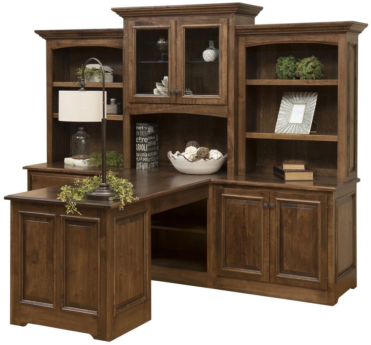 Hardwood Partner's Desk