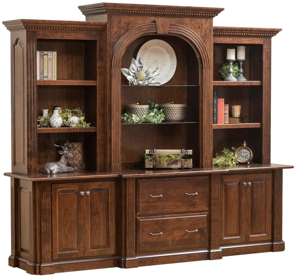 Montreal Credenza with Hutch