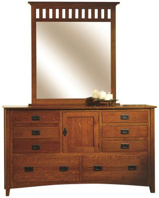 Madrid Mission Mirror Dresser