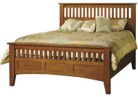 Madrid Mission Slat Bed