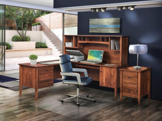 Landmark Hardwood Office Furniture