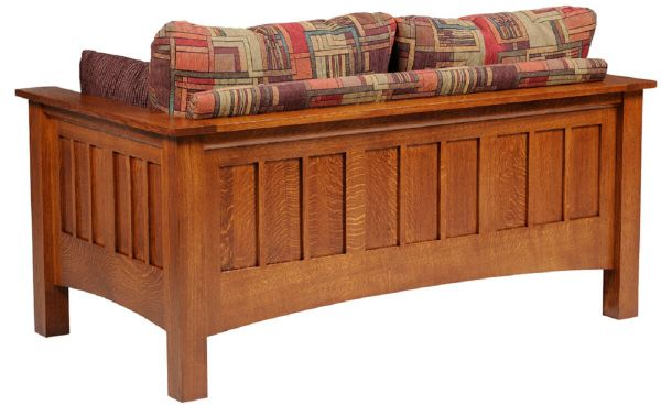 Arenas valley loveseat back