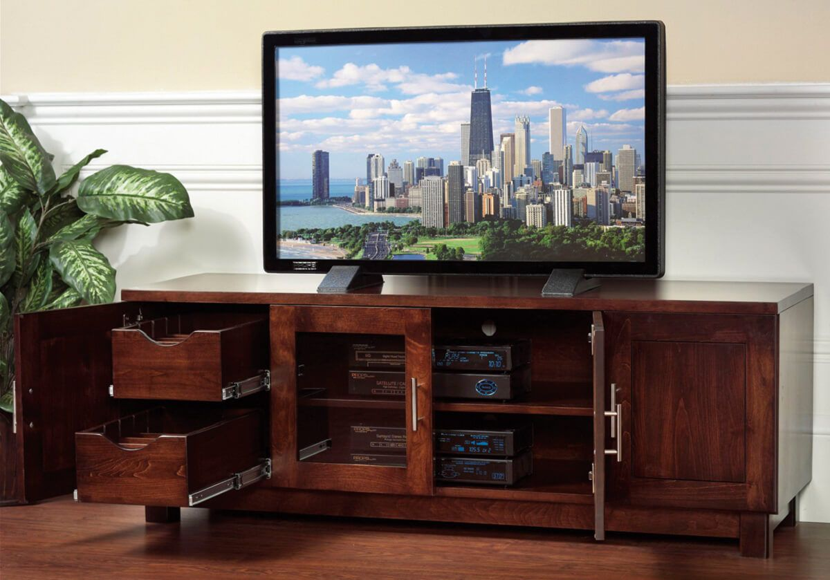 Cartier TV Stand Open