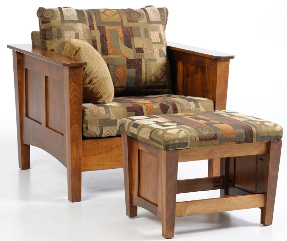 Rhode Island Chair with Ottoman