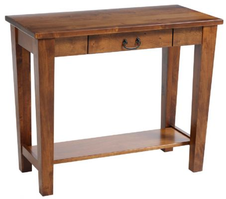 Rhode Island Console Table with Drawer