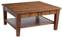 Rhode Island Square Coffee Table with Drawer
