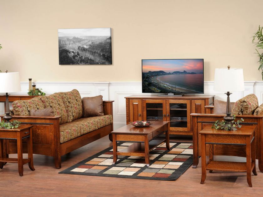 Richmond Shaker Living Room Set Countryside Amish Furniture