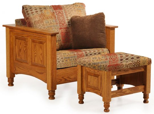 Sheperdstown Chair and Ottoman