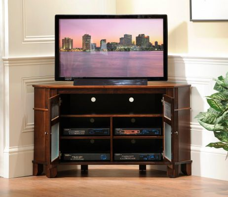 West Point Corner Media Cabinet Countryside Amish Furniture