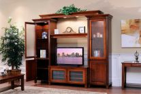 West Point TV Wall Unit