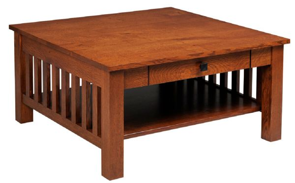 Arenas Valley Square Coffee Table with Drawer