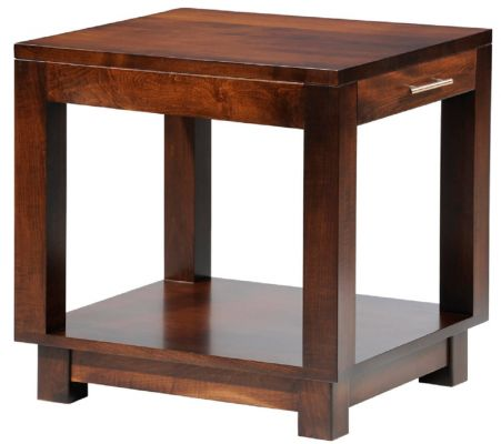 Cartier End Table with Drawer