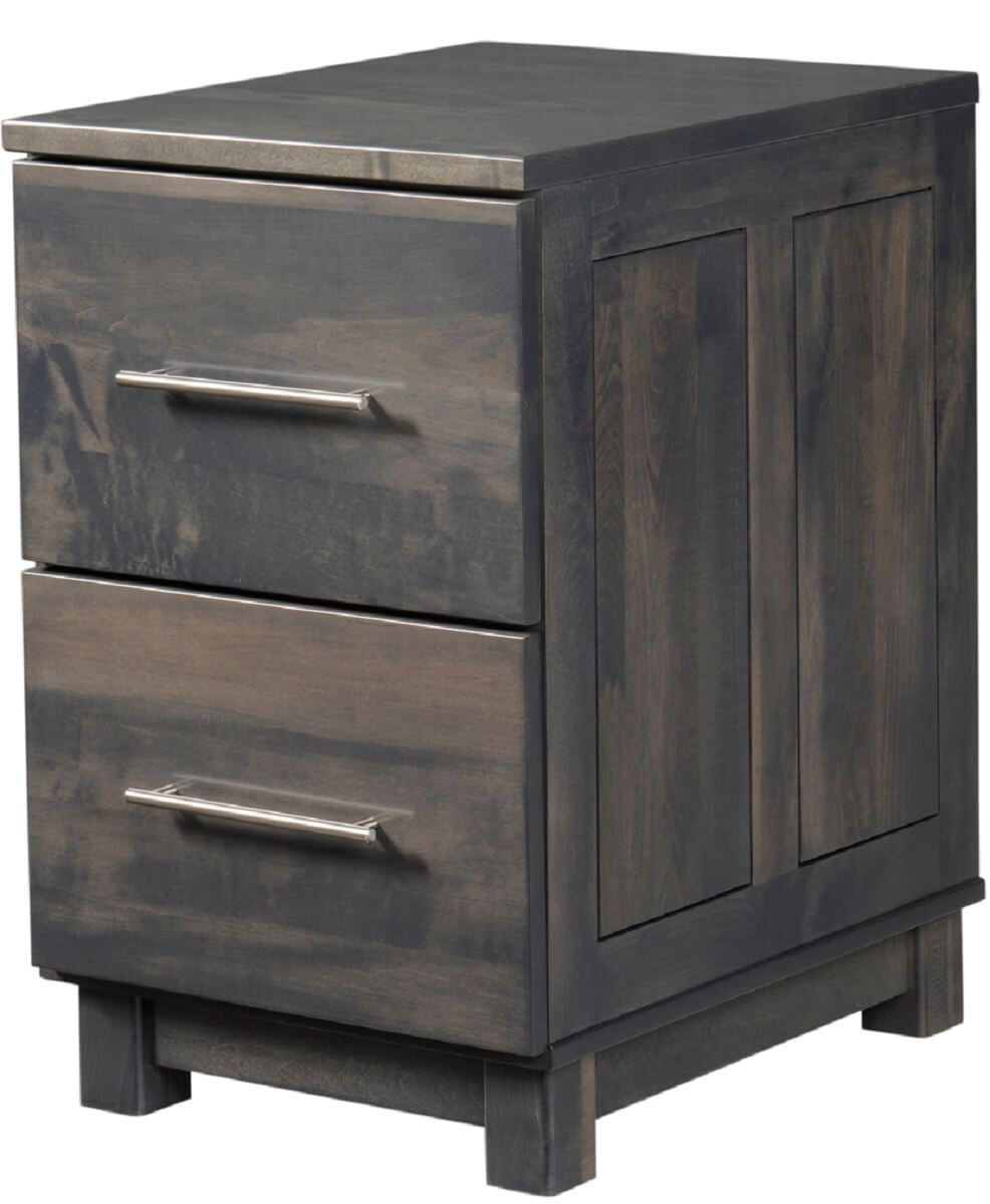 Omega 2-Drawer File Cabinet