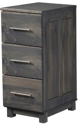 Omega 3-Drawer File Cabinet