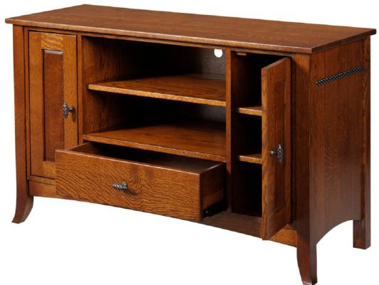 Solid Wood Shaker Console