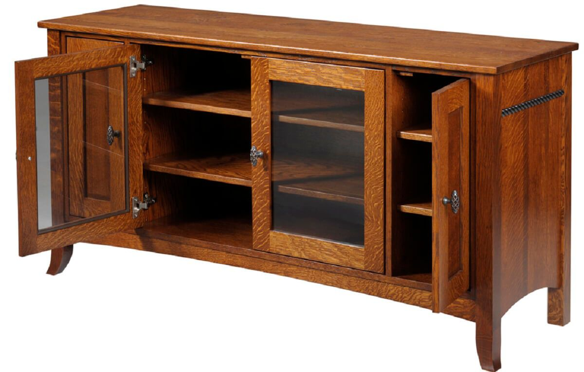Richmond 4-door media cabinet