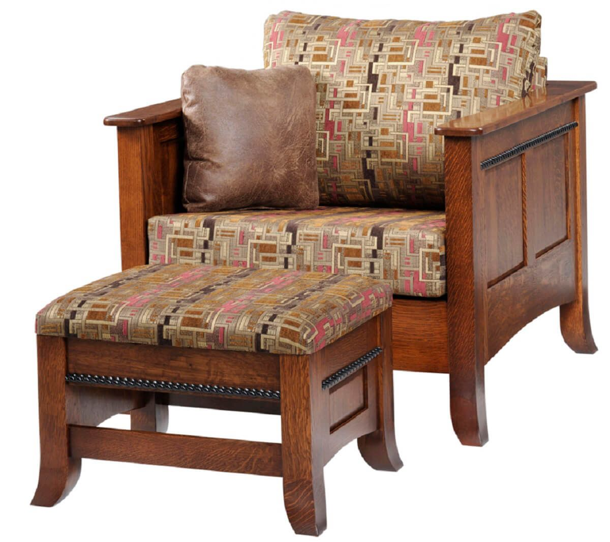 Richmond Chair with Ottoman