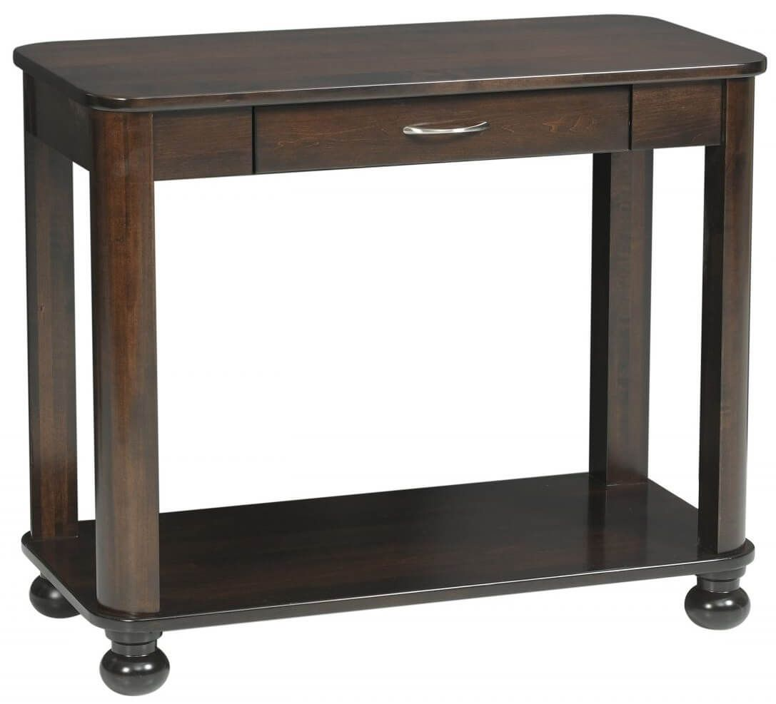 Amber Console Table