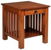 Arenas Valley End Table with Drawer