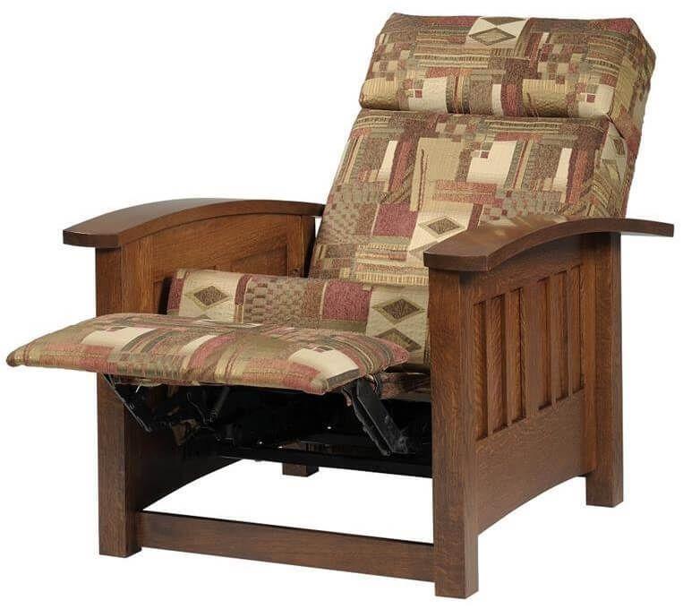Upholstered Mission Recliner
