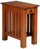 Arenas Valley Side Table with Drawer