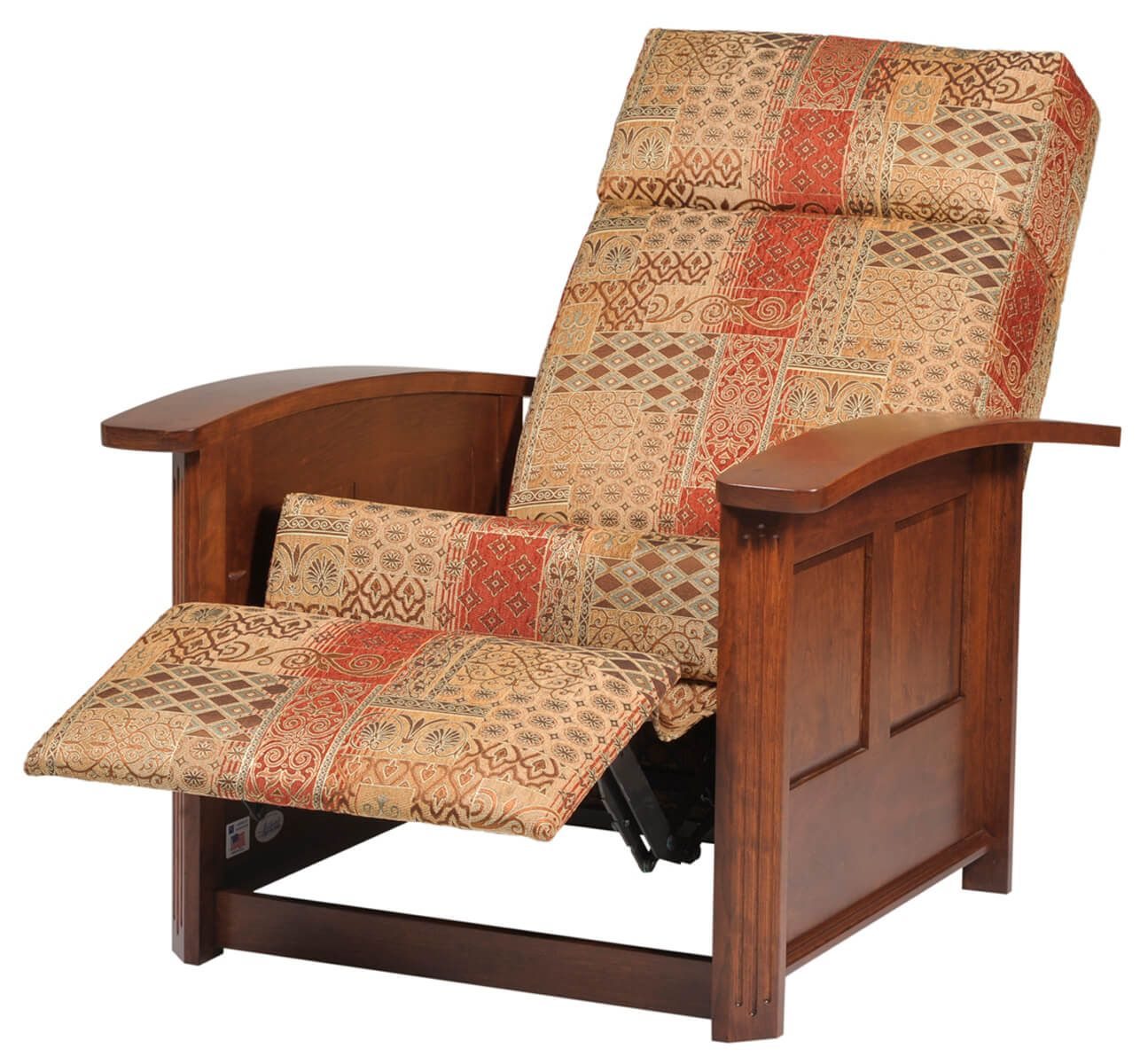 Reclined Amish Chair