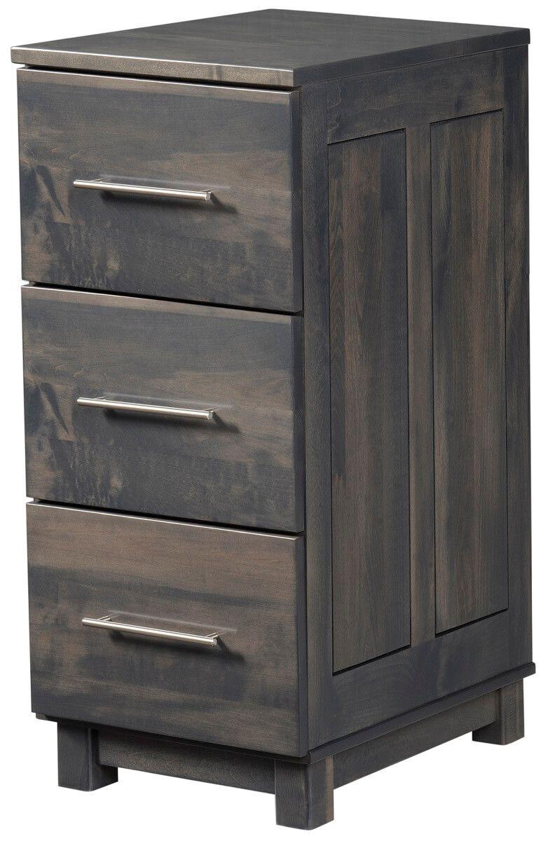 Omega 3-Drawer File Cabinet
