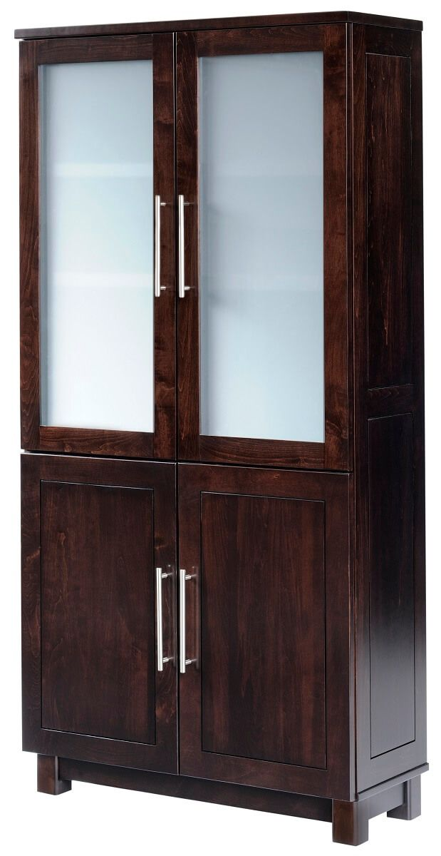 Omega Bookcase with Doors