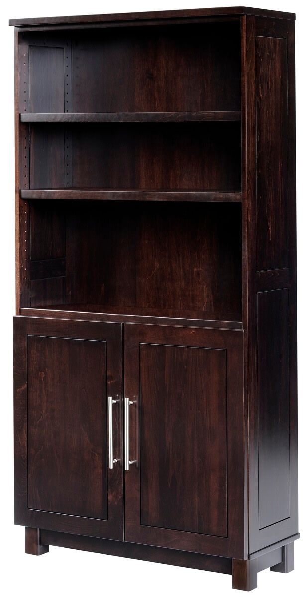 Omega Bookcase with Storage