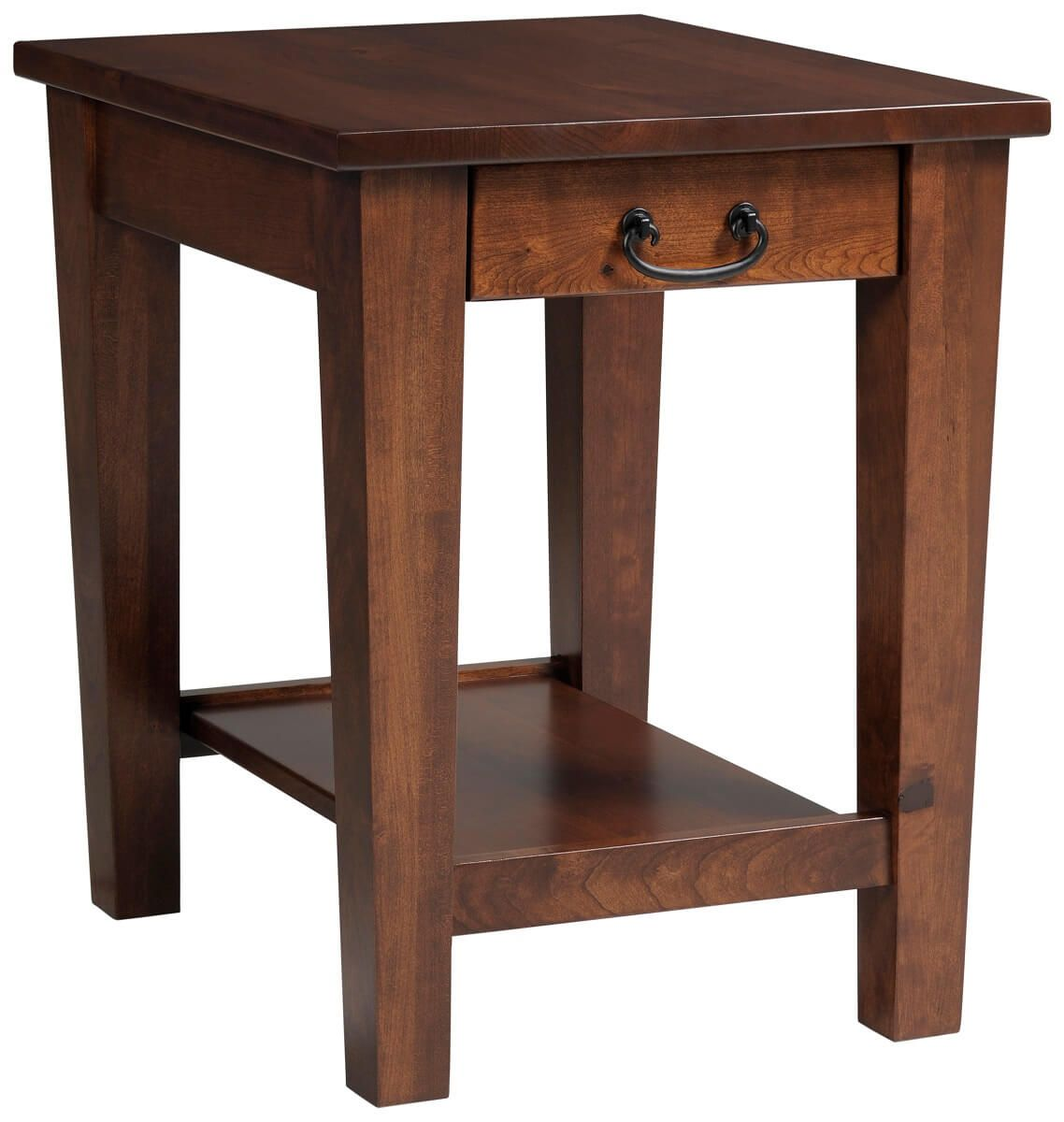 Rhode Island End Table with Drawer