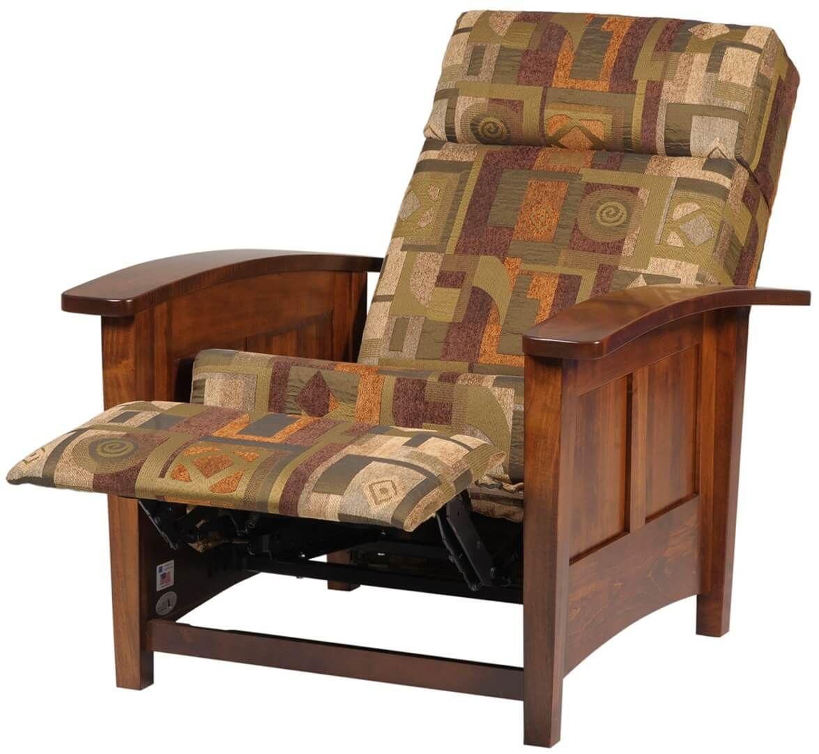 Hardwood Reclining Chair