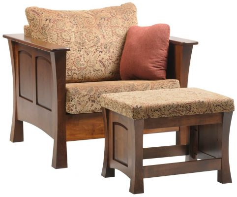 Two Rivers Chair and Ottoman
