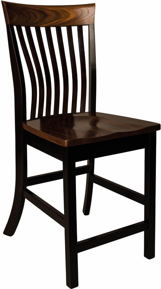 Aragon Pub Chair in Cambria finish