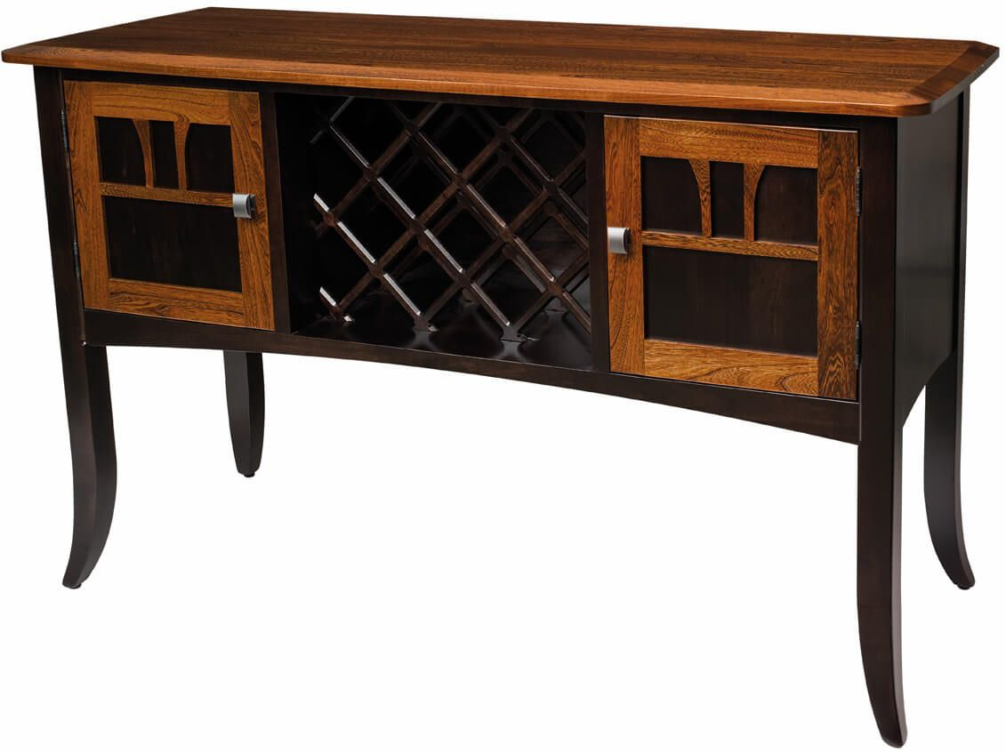Aragon Wine Server in Cambria finish