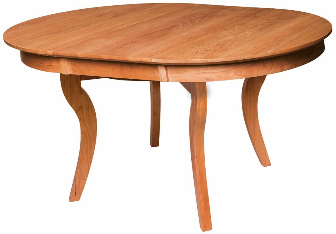 Broad Ripple Expandable Dining Table with leaf