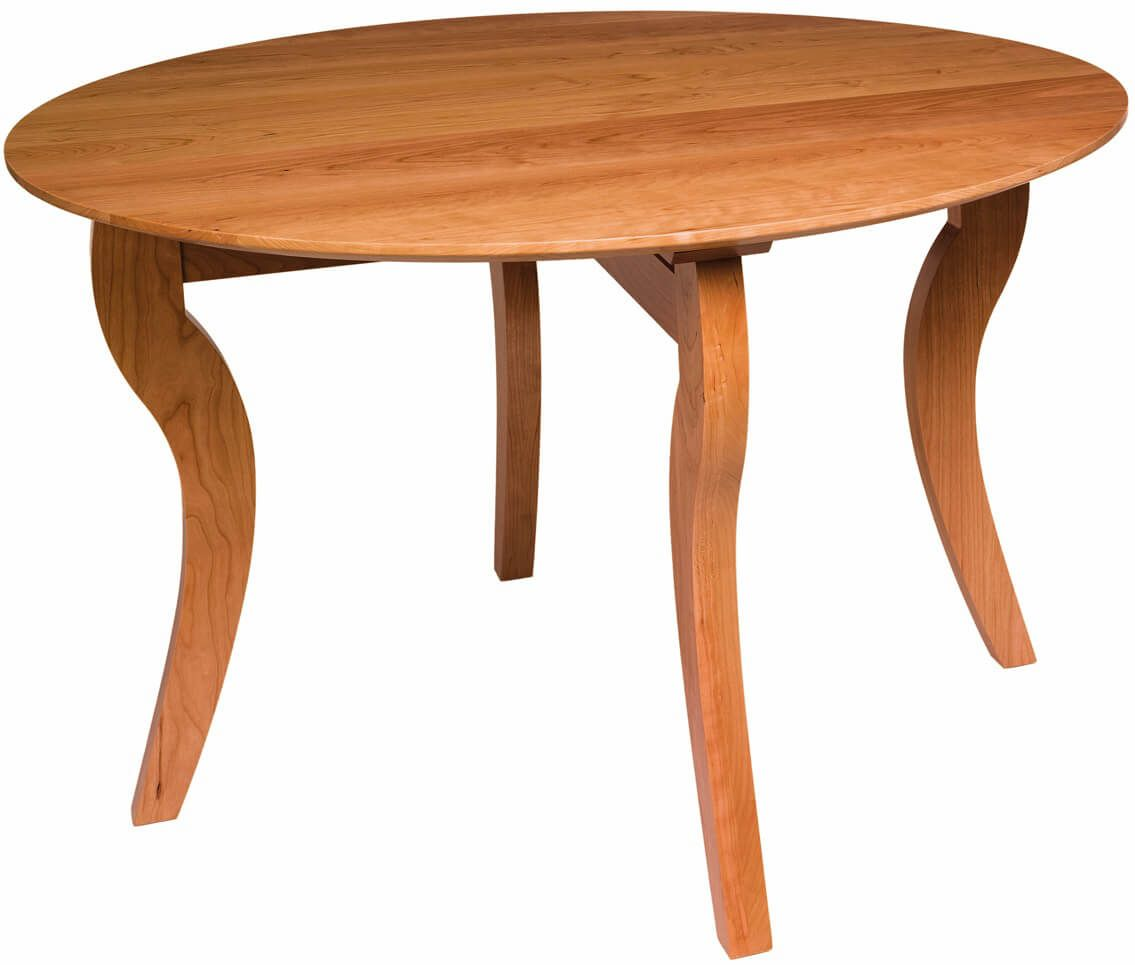 Broad Ripple Solid Top Table in Cherry