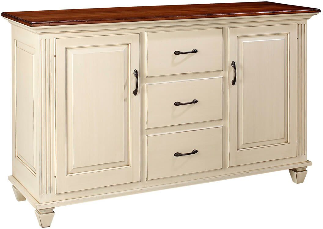 Castile Dining Buffet with two toned finish