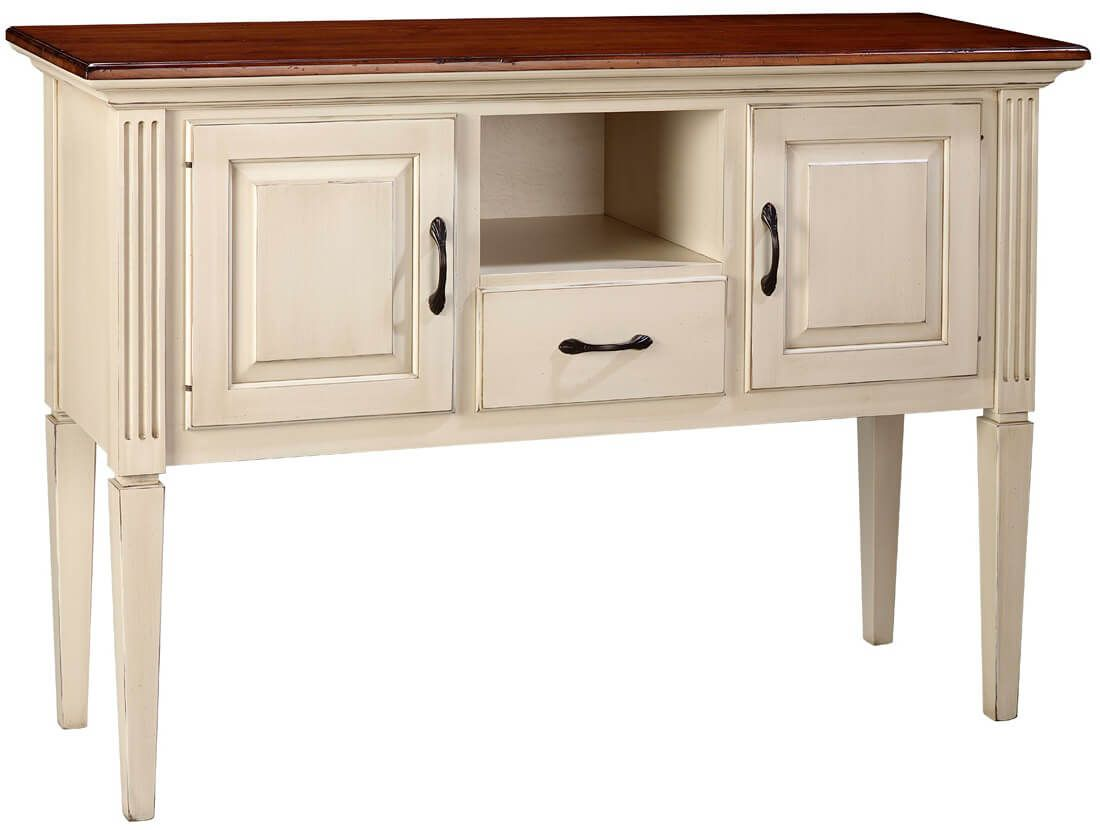 Solid hardwood Castile Serving Sideboard