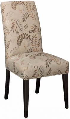 Shown with fabric upholstery