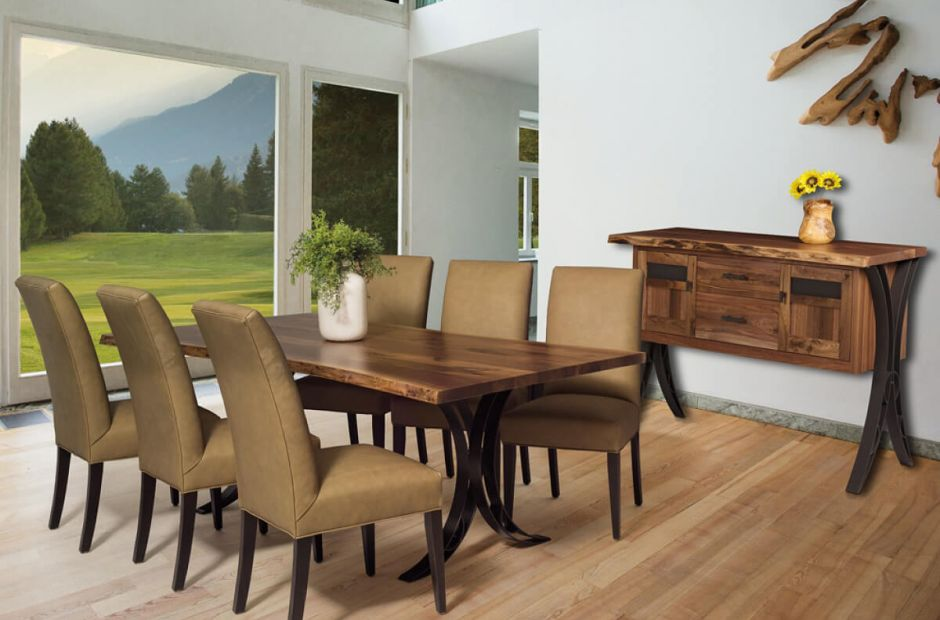 Dominion Reserve Live Edge Dining Set image 1
