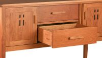 Eastwood Sideboard features dovetailed drawers